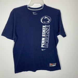 SOLD Mens XL Navy Blue NCAA Penn State Lacrosse